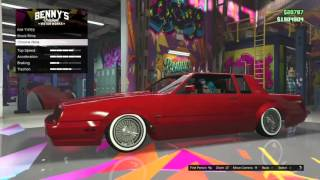 getlinkyoutube.com-Custom Faction (Breaking Bad Edition) Lowrider Options And Test - GtaV - Lowrider DLC