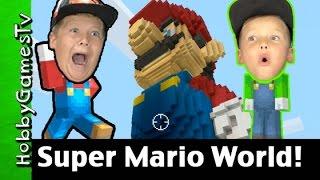 getlinkyoutube.com-Mineraft Wii U Super Mario World First Night HobbyGames