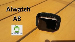 getlinkyoutube.com-Review AiWatch A8 (Español)