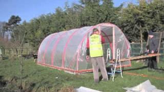 getlinkyoutube.com-How to Build a Polytunnel, Ireland | Stop Motion