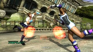 getlinkyoutube.com-Tekken 6: Asuka Double K.O. ryona (ダブルKO リョナ)