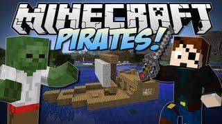 getlinkyoutube.com-Minecraft   PIRATES! (Undead Pirates, Kegs, Ships & More!!)   Mod Showcase