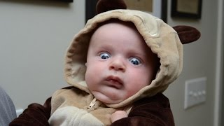 getlinkyoutube.com-Funny Babies Scared of Toys Compilation 2015