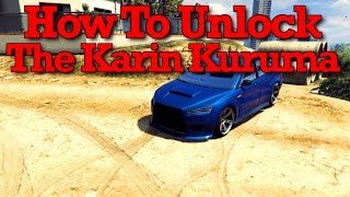 getlinkyoutube.com-GTA 5: How To Unlock The Karin Kuruma In Free Roam (GTA Online Karin Kuruma Guide & Customization)