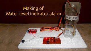 getlinkyoutube.com-How to Make a Water Level Indicator Alarm