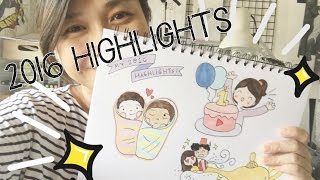 getlinkyoutube.com-Happy New Year | My 2016 Highlights in Doodles!