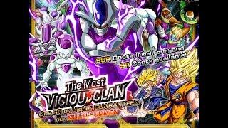 getlinkyoutube.com-The Most Vicious Clan: Cooler Summoning Event: DBZ Dokkan Battle