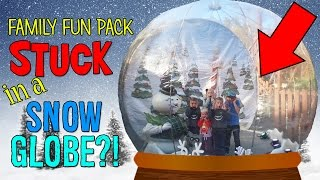getlinkyoutube.com-STUCK IN A GIANT SNOW GLOBE IN DOLLYWOOD!!