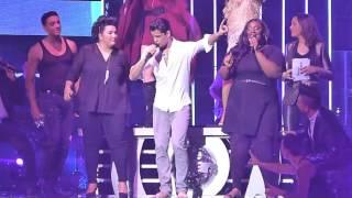 getlinkyoutube.com-Danse avec les stars, la tournée - Boogie Wonderland, Christophe Licata chante