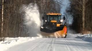 getlinkyoutube.com-Fastrac - Snow Plough - Norwegian