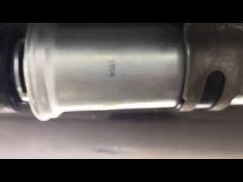 Замена топливного фильтра на BMW X 1 diesel