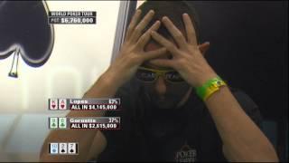 Kool Shen au World Poker Tour Cannes