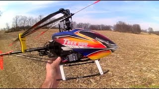 getlinkyoutube.com-Align T-Rex 500 ESP Helicopter - Beautiful Day For A Flight