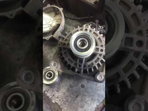Ремонт генератор HR15 4WD