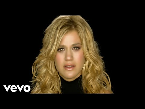Kelly Clarkson Because of you official music video