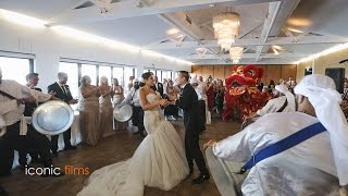 Blended Lebanese and Chinese Wedding Entry!! width=