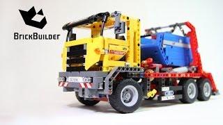getlinkyoutube.com-Lego Technic 42024 Container Truck - Lego Speed build