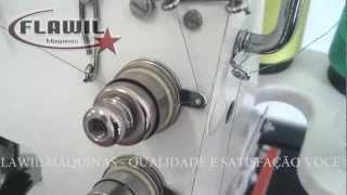 getlinkyoutube.com-Aprenda a passar a linha em sua galoneira portátil - Flawil máquinas