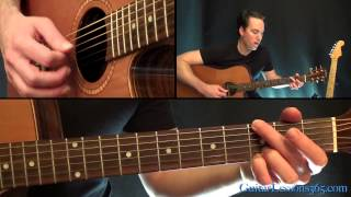 getlinkyoutube.com-Down In A Hole Unplugged Guitar Lesson - Alice in Chains