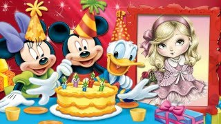 getlinkyoutube.com-Projeto  Mickey e Minnie Aniversário por Susan Taffi retro