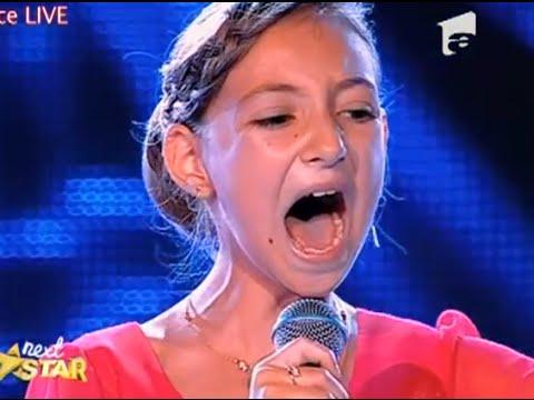Next Star: Elena Hasna, de doar 12 ani, din Targu Jiu, interpreteaza senzational