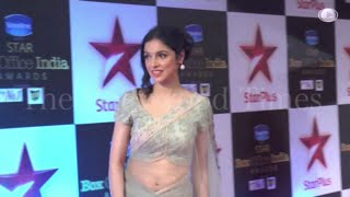 getlinkyoutube.com-Divya Khosla Navel in Transparent Saree