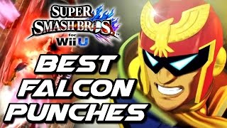 getlinkyoutube.com-Super Smash Bros BEST FALCON PUNCHES (Wii U, 3DS, Wii)
