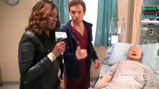getlinkyoutube.com-#OneChicagoDay On Set of NBC's Chicago Med With Nekia Nichelle