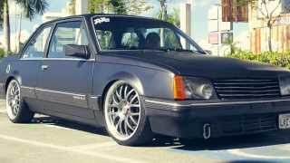 """Chevrolet Monza on 18"""" Wheels - Bagged - MS Filmes"""