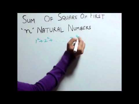Trick 33 Sum of square of first n natural numbers