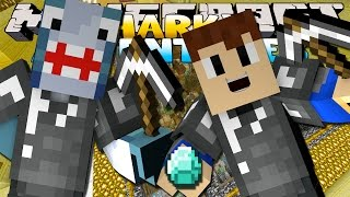 getlinkyoutube.com-Minecraft Games - Sharky & Scuba Steve - TRAPPED IN CITY PRISON