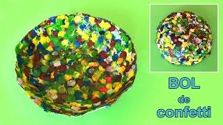getlinkyoutube.com-Bol de confetti * Manualidades fáciles