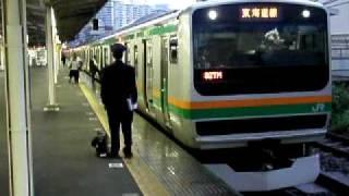 熱海駅327MJR東日本乗務員からJR東海乗務員に交代
