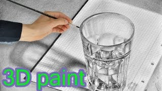 getlinkyoutube.com-Drawing AMAZING 3D Painting Illusions speed drawing