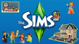 getlinkyoutube.com-The Sims 3  Lego