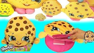 Shopkins Season 1 Kooky Cookie Plush Secret Diary + Surprise Blind Bags - Cookieswirlc