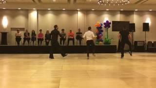 getlinkyoutube.com-Pom Poms Line Dance by Fred Whitehouse, Guillaume Richard & Daniel Trepat @WCLDM 2016
