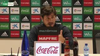 Rueda de prensa de Víctor Sánchez del Amo previa al Betis-Sevilla