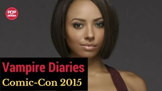 SDCC 2015: entrevista com Kat Graham de The Vampire Diaries