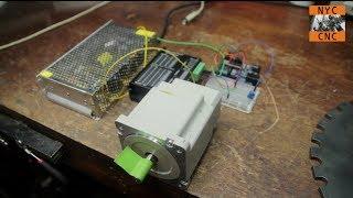 getlinkyoutube.com-Use Arduino to Control a Large Stepper Motor! Part 1