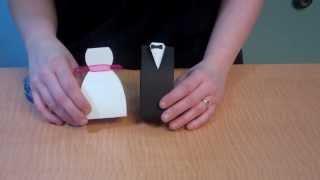 getlinkyoutube.com-Create Bride and Groom Favor Boxes!
