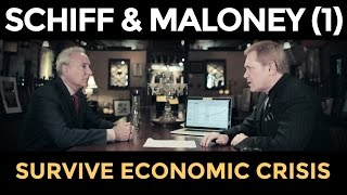 getlinkyoutube.com-Gold Price TO SOAR, STOCKS WILL CRASH - Peter Schiff & Mike Maloney (Part 1)