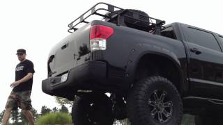 getlinkyoutube.com-2007 Tundra -TRD Supercharged and Lifted - Exhaust Sound