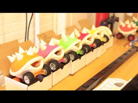 3D Printed MakerBot Turtle Shell Racers