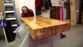 getlinkyoutube.com-Epoxy Coffee Table 2014