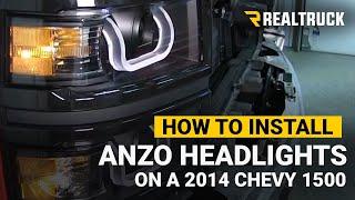 How To Install Anzo U-Bar Projector Headlights
