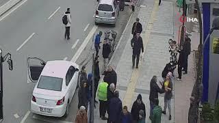Kadınlar sokak ortasında böyle kavga etti