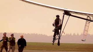 Flying Bicycle Success! pt.2 - Bang Goes The Theory - Series 6 - BBC