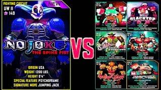 getlinkyoutube.com-Real Steel WRB NO JOKE VS PRO UW II ROBOTS Series of fights NEW ROBOT (Живая Сталь)