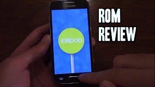 getlinkyoutube.com-Galaxy S4 Mini CM12 Lollipop 5.0.2 Rom Review